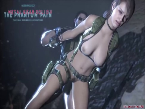 Metal Gear Solid 5 : Quiet Fuck Compilation